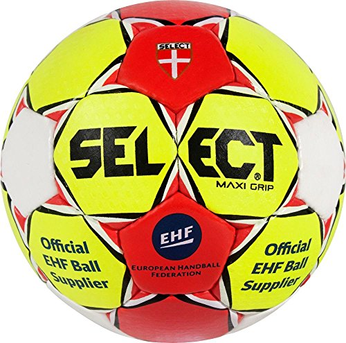 Select 3862054670 Ballon de Handball Femme, Jaune/Rouge/Blanc, 2 de Select