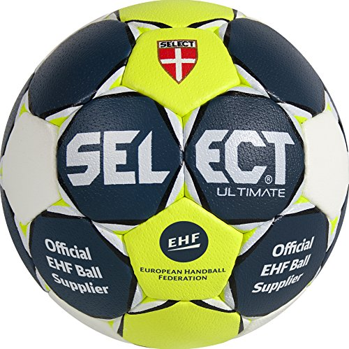 Select Ultimate Ballon de handball Bleu/jaune/blanc, 2, 1611854250 de Select