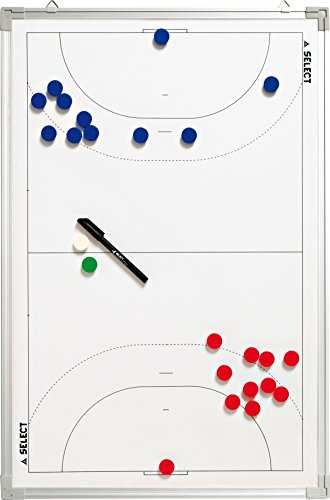 Select Tableau de tactique handball, blanc, 45 x 30 cm de Select