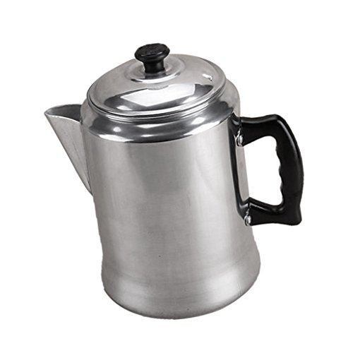 Sharplace Percolateur à Café en Aluminium pour Camping Durable Cuisine 3l de Sharplace