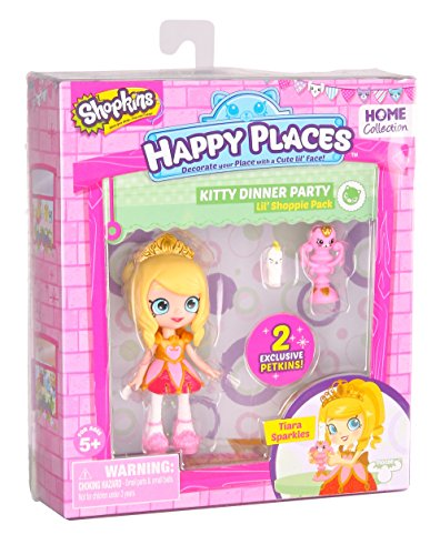 Happy Places Shopkins Single Pack Tiara Sparkles Doll de Shopkins
