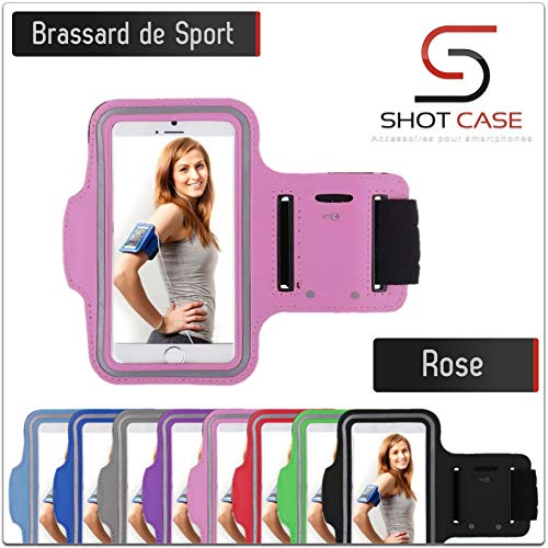 "Shot Case - Brassard Sport ALCATEL Onetouch Idol (4,7"") Housse Etui Coque (Couleur Rose) de Shot Case"