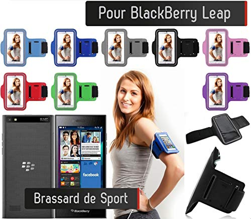 Shot Case - Brassard Sport Blackberry Leap Housse Etui Coque (Couleur Violet) de Shot Case