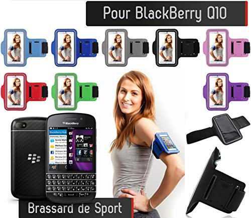 Shot Case - Brassard Sport Blackberry Q10 Housse Etui Coque (Couleur Violet) de Shot Case