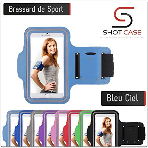Shot Case - Brassard Sport Blackberry Z30 Housse Etui Coque (Couleur Bleu Ciel) de Shot Case