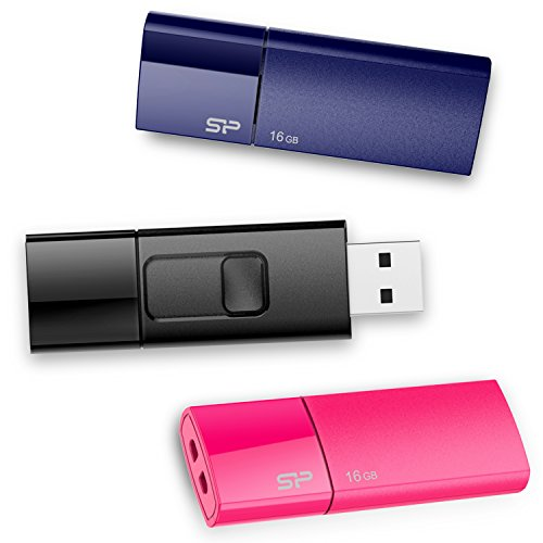 Silicon Power Clé USB U05 32 Go - Pack de 3 de Silicon Power