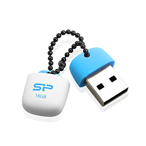 Silicon power sP016GBUF2T07V1B clé USB 16Go USB 2.0 Bleu de Silicon Power
