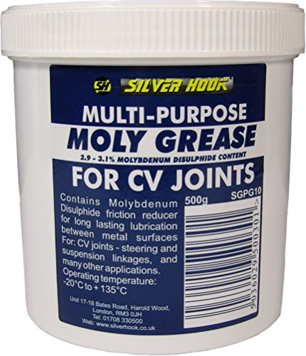 Silverhook SGPG10 Moly Pot Graisse Multi-Usage 500 g de Silverhook