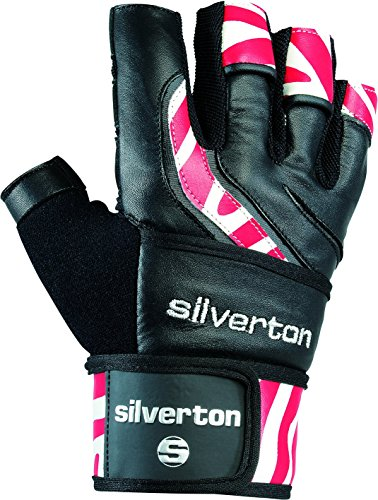 Silverton Power Stripes Gants S, M, L, XL ou XXL Noir/Rouge de Silverton