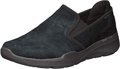 Skechers Equalizer 3.0-Substic, Baskets Enfiler Homme, vert (vert BBK), 40 EU de Skechers