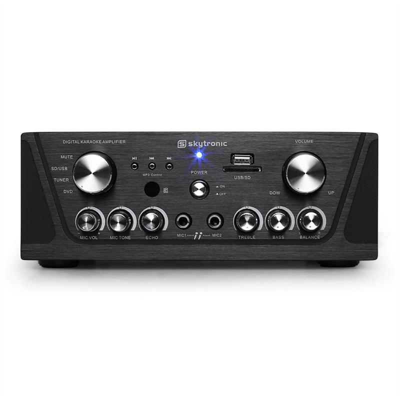 [OCCASION] - Skytronic Amplificateur HiFi Karaoké Compact MP3-USB-SD de Skytronic