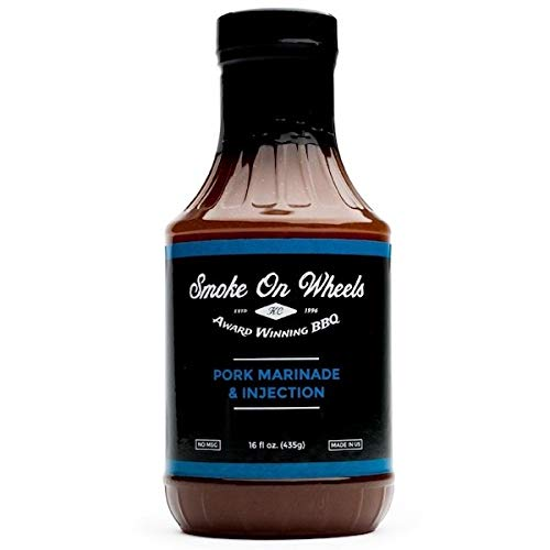 Smoke on Wheels Pork Marinade & Injection - 435g (16 oz) de Smoke on Wheels
