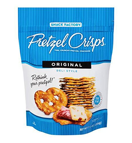 Snyders Pretzel Crisps Original 85 g (Pack of 8) de Snyder's of Hanover