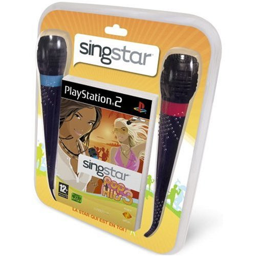 Singstar Pop Hits 3 + Microphones de Sony Computer