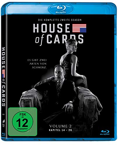 House of Cards-die Komplette Zweite Season-4 d [Blu-ray] [Import allemand] de Sony Pictures Home Entertainment Gmbh
