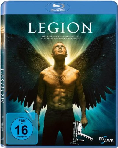 Legion [Blu-ray] de Sony Pictures Home Entertainment Gmbh