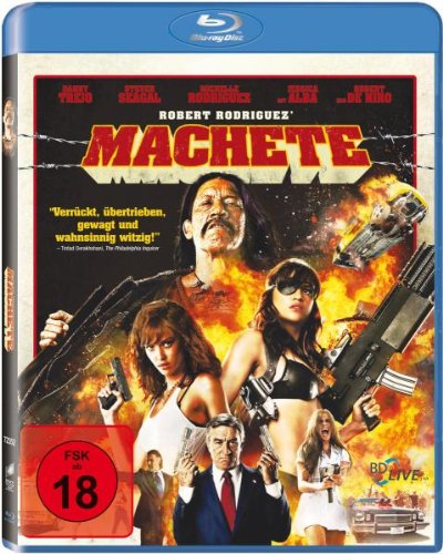 Machete [Blu-ray] [Import allemand] de Sony Pictures Home Entertainment Gmbh