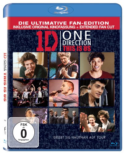 One Direction: This Is Us [Blu-ray] [Import anglais] de Sony Pictures Home Entertainment Gmbh