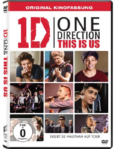 One Direction: This Is Us [Import anglais] de Sony Pictures Home Entertainment Gmbh