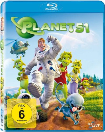 Planet 51 [Blu-ray] de Sony Pictures Home Entertainment Gmbh