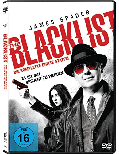 The Blacklist-die Komplette Dritte Season-6 di de Sony Pictures Home Entertainment Gmbh