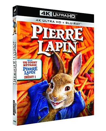 Pierre Lapin [4K Ultra HD + Blu-ray + Digital UltraViolet] de Sony Pictures