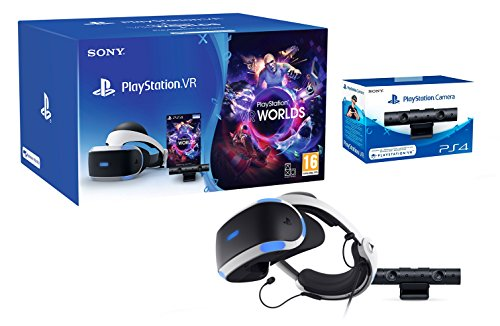 "PlayStation VR2 (CUH-ZVR2) ""Starter Pack"" + VR Worlds + Camera VR de Playstation"