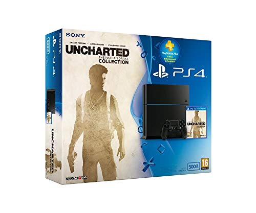 Console PS4 500Go + Uncharted : The Nathan Drake Collection + PS Plus 3 mois de Sony