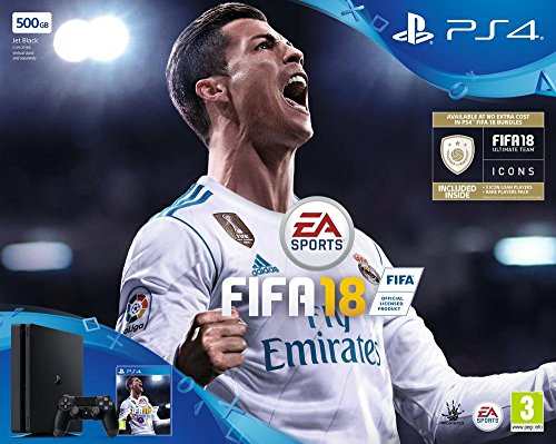 PS4 Slim 500Go + FIFA 18 de Sony