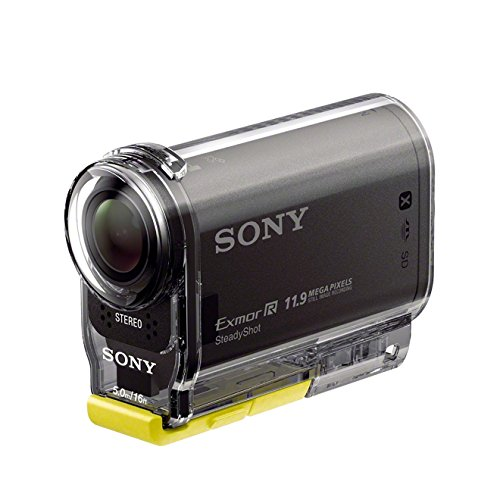 Sony HDR-AS30VW.CEN Kit Aventure Action Cam Sony AS30V 16 Mpix USB + Caisson étanche 5 m + Support de fixation + Fixation poignet + Bandeau universel + Filtre anti-buée Noir de Sony