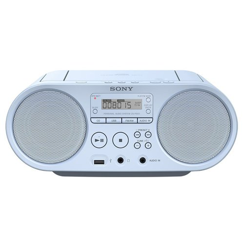 Sony ZSP-S50L Lecteur CD/MP3, USB, Radio - Bleu de Sony