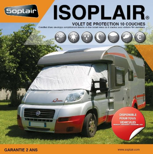 Soplair Isoplair Ford Volet Isotherme pour Camping Profilé Type Ford Transit Depuis 1994 à 2013 de Soplair