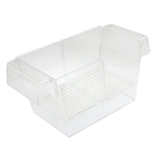 Sourcingmap Plastique Aquarium Poisson Spawn Écloserie Breeder Coque/Box de Sourcingmap