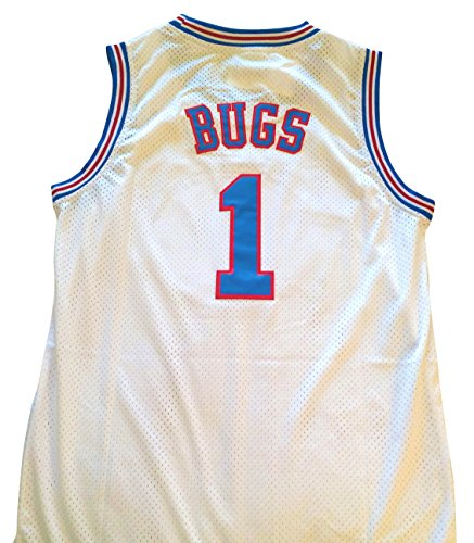 Bugs Bunny Space Jam Jersey - #1 Tune Squad - White (Medium) by space jam de Space Jam