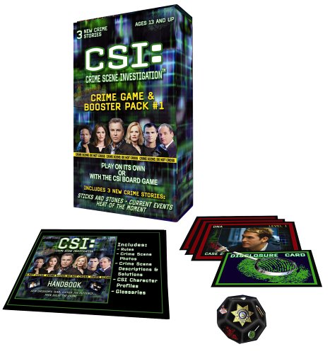 CSI: Crime Game Booster Pack de Specialty Board Games