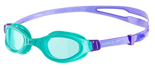 aef4db0360 Speedo Futura Plus Lunette Mixte Enfant, Violet/Speamint, Taille Unique de  Speedo
