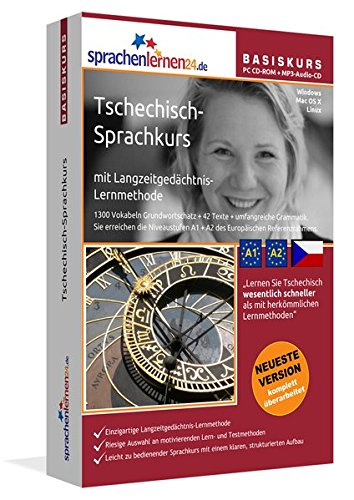 Sprachenlernen24.de Tschechisch-Basis-Sprachkurs. PC CD-ROM für Windows/Linux/Mac OS X + MP3-Audio-CD für Computer /MP3-Player /MP3-fähigen CD-Player [import allemand] de Sprachenlernen24.de