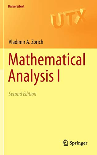 Mathematical Analysis de Springer-Verlag Berlin and Heidelberg GmbH & Co. K