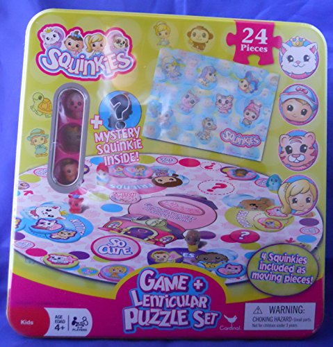 Squinkies Game and Lenticular Puzzle Set de Squinkies