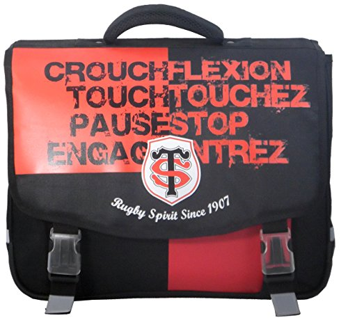Cartable scolaire TOULOUSE - Collection officielle STADE TOULOUSAIN - Rugby Top 14 de Stade Toulousain
