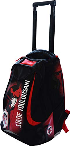 Sac à dos roulettes scolaire TOULOUSE - Collection officielle STADE TOULOUSAIN de Stade Toulousain