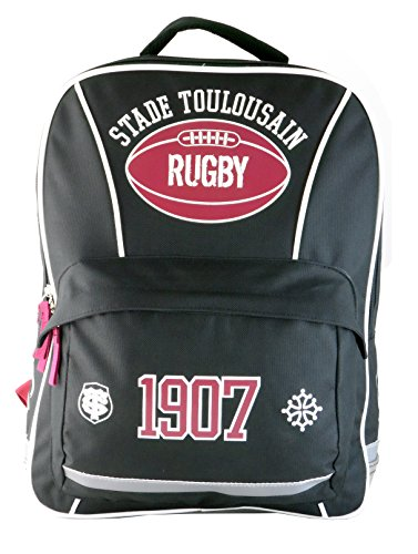 Sac à dos scolaire TOULOUSE - Collection officielle STADE TOULOUSAIN - Rugby de Stade Toulousain