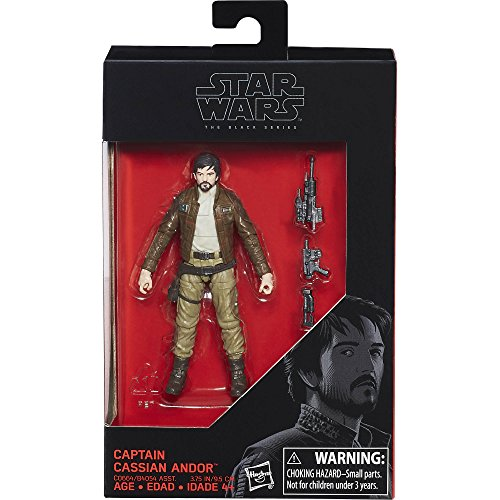 Star Wars: Rogue One, The Black Series, Captain Cassian Andor Exclusive Action Figure, 3.75 Inches de Star Wars