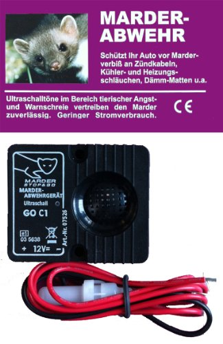 Système à ultrasons standard de protection contre les martres Stop and Go - 12 V - 07535 de Stop & Go