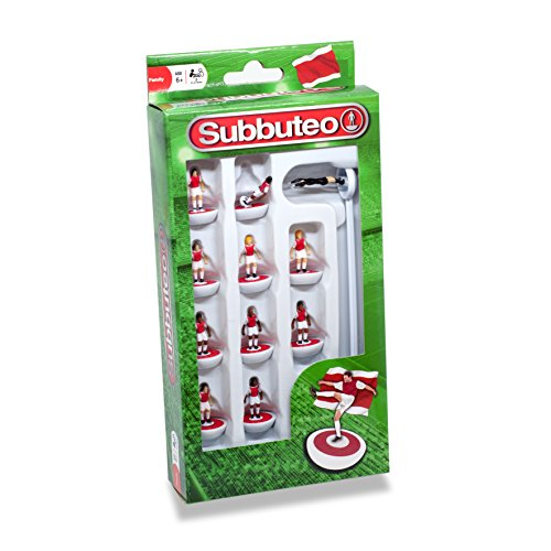 Subbuteo 3445 Player Ensemble, Rouge/Blanc de Subbuteo