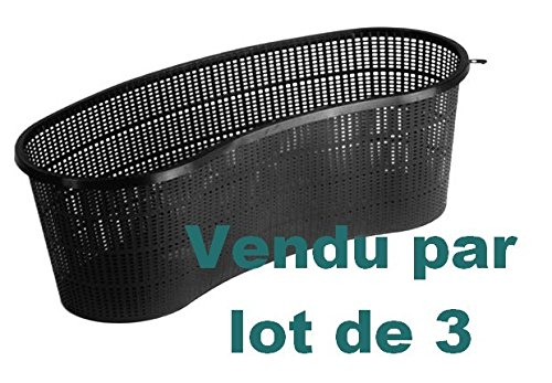 Superfish - Lot de 3 paniers haricot 45 cm x Prof. 15 cm - GARPH45 de Superfish