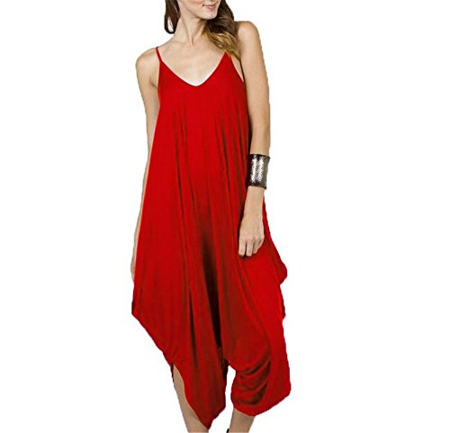 Swallowuk - Combinaison - Femme rouge Rot L de Swallowuk