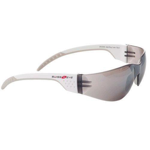 Swiss Eye Bedretto Lunettes de sport mixte Blanc/Champagne Medium