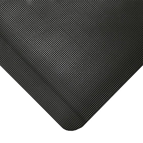 TAP 0003093 Tapis antifatigue pour poste de soudure, 0,9 m x 1, 5 m, Noir de TAP FRANCE