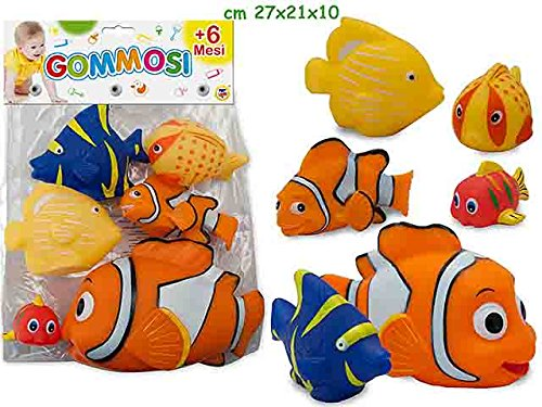 Gommolosi Animal Poisson 6PZ 74068 de TEOREMA S.r.l.